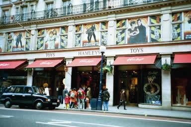 Hamley`s Toy shop