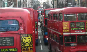 Oxford Street traffic