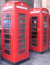 Useful London telephone box